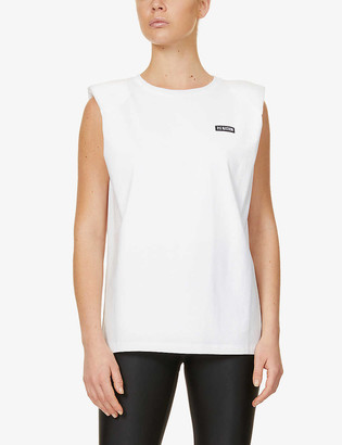 P.E Nation Power Play stretch-cotton tank top