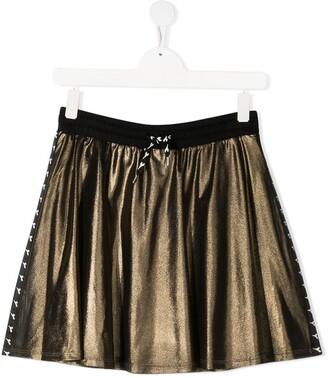 Diadora Junior Side Stripe Jersey Skirt