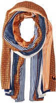 MICHAEL Michael Kors Graphic Patchwork Oblong Scarf Scarves