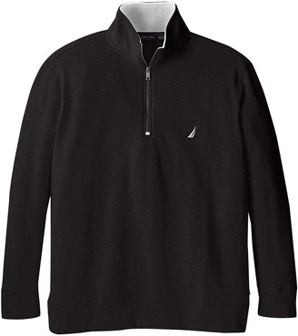 Nautica Men's Big and Tall Big & Tall 1/4 Zip Fleece Sweater