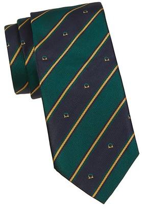 Salvatore Ferragamo Bold Stripe Silk Tie