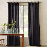 Linen Cotton Grommet Window Panel