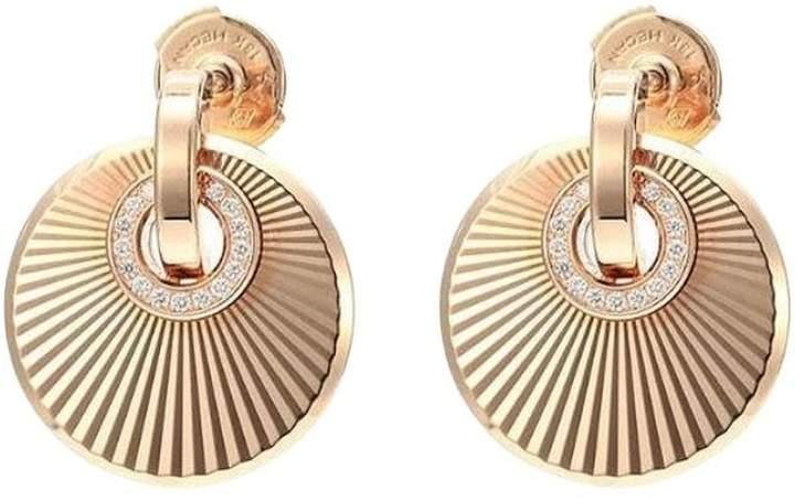 Chopard 839205-5001 18K Rose Gold Diamonds Earrings