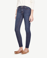 Ann Taylor Petite Curvy Skinny Ankle Jeans