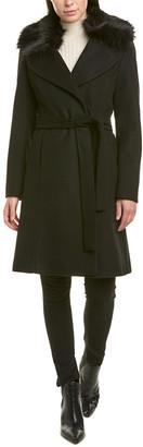 Tahari Fiona Wrap Coat