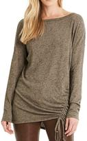Michael Stars Side Ruched Tunic