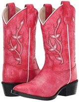 Old West Kids Boots Kari (Toddler/Little Kid) (Red) Girl's Shoes