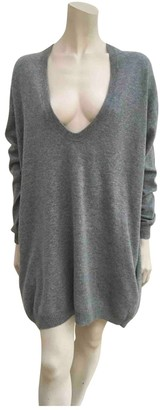 The Row Grey Cashmere Knitwear
