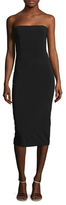 Nicole Miller Crepe Tied Sheath Dress