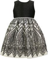 Jayne Copeland Black & White Party Dress, Toddler & Little Girls (2T-6X)