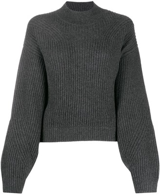 Le Kasha Cut-Out Back Cashmere Jumper