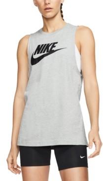 Nike Women's Futura Cotton Muscle Tank Top