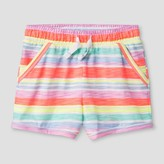 Cat & Jack Baby Girls' Lounge Shorts Sunrise Coral