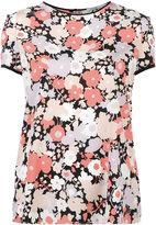 Agnona floral print T-shirt - women - Silk/Spandex/Elastane - 40