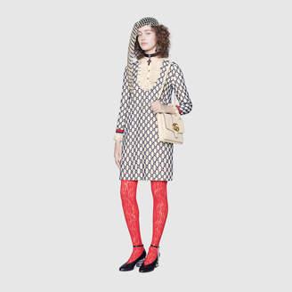 Gucci Short GG macrame dress