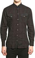 Neil Barrett Cotton Check Shirt