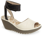 Fly London Yula Sandal with Ankle Cuff