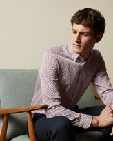Thumbnail for your product : Ted Baker Geo Print Cotton Shirt