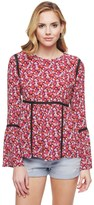 Juicy Couture Marina Floral Blouse
