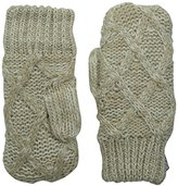 Muk Luks Women's Diamond Potholder Mittens