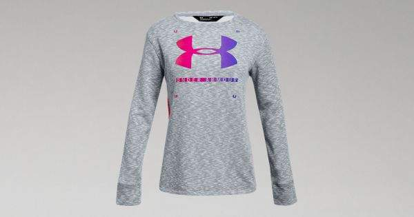 Under Armour Girls' UA Finale Terry Crew