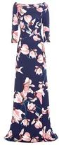 Erdem Valentina Stretch Jersey Gown