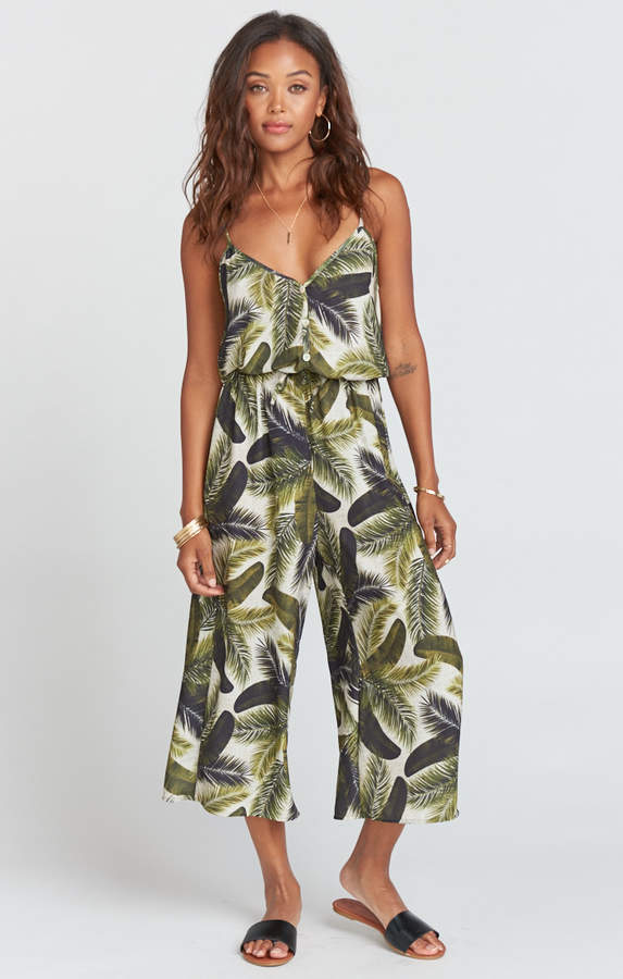 Dree Playsuit ~ Fronds of Mine