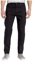 The Unbranded Brand Relax Tapered in 11 oz Solid Black Stretch Selvedge (11 oz Black Stretch Selvedge) Men's Jeans