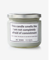 Express jac vanek commitment scented candle
