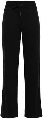 DKNY Appliqued Cotton-blend Track Pants