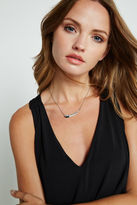 BCBGeneration Curved Pendant Necklace