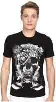 Just Cavalli Skull Jersey Tee Shirt