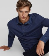 Reiss Mitchel - Jersey Polo Shirt in Blue, Mens