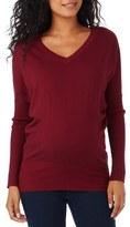 Women's Rosie Pope V-Neck Maternity Sweater