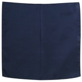 Forzieri Navy Blue Silk Pocket Square