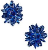 Kate Spade Gold-Tone Multi-Crystal Stud Earrings
