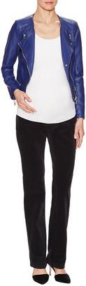 J Brand Mama J Low-Rise Straight Leg Corduroy Jean