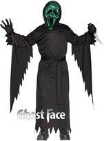 Fun World Costumes Smoldering Ghost Face Kids Costume