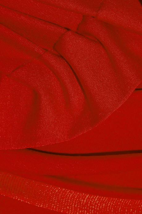 Vivienne Westwood Wednesday draped jersey-crepe maxi dress