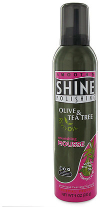 Smooth 'N Shine Smooth N' Shine Olive & Tea Tree Nourish Mousse