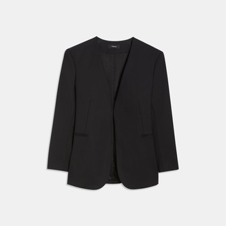 Theory Good Wool Open Blazer