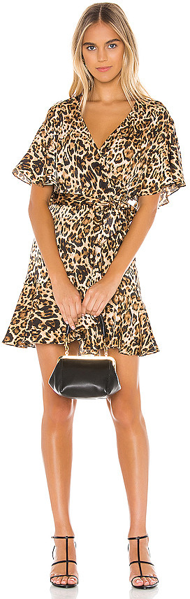 BB Dakota Wild Card Wrap Dress