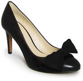 Nine West Hennight Leather Bow Pumps