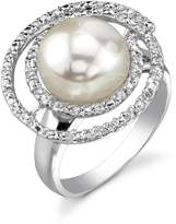 JewelsObsession Pearl Swirl Ring