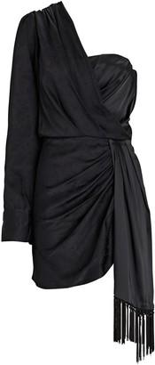 Jonathan Simkhai Rosemary One-Shoulder Mini Dress