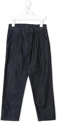 Knot Denim Trousers
