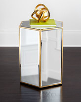 Horchow Wade Mirrored Side Table
