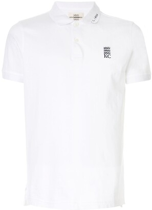 Kent & Curwen Embroidered Detail Polo Shirt