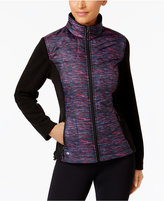Ideology Quilted Colorblocked Jacket, Only at Macy's