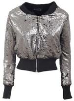Numero 00 Numero00 Women's Black Sequins Sweatshirt.